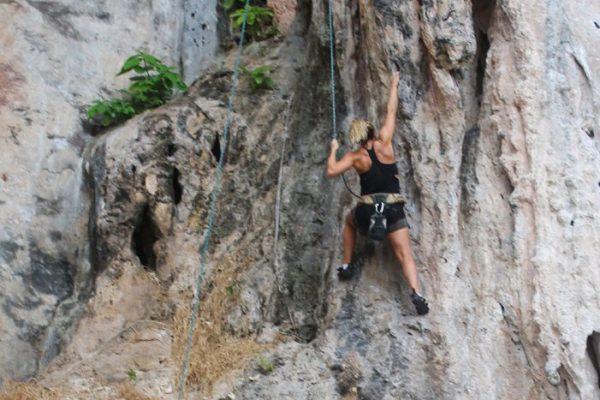 cassie day rock climbing