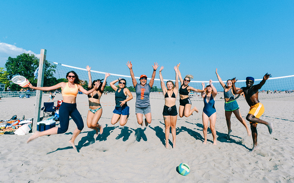 All Day Fit Beach Volleyball