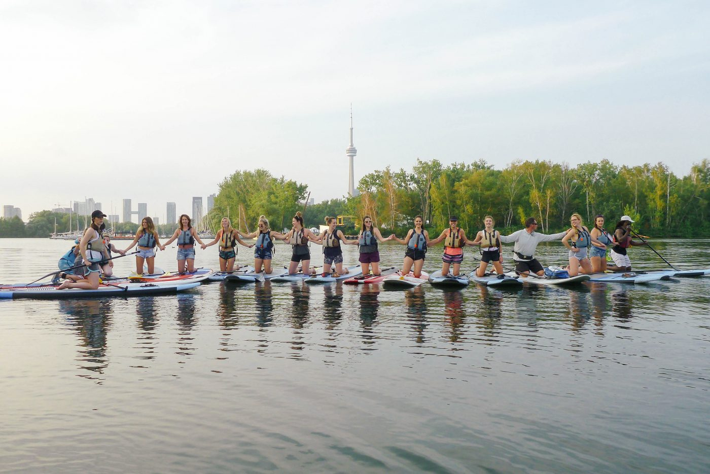 all day fit toronto paddleboard